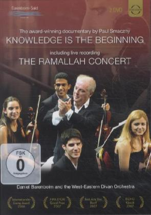 Knowledge is the Beginning / The Ramallah Concert. Ein Film (2 DVD) von Paul Smaczny