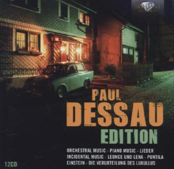 Edition, 12 Audio-CDs. Von Paul Dessau