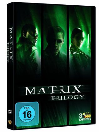 Matrix Trilogie. Matrix / Matrix Reloaded / Matrix Revolutions. Film (3 DVDs) von Andy Wachowski