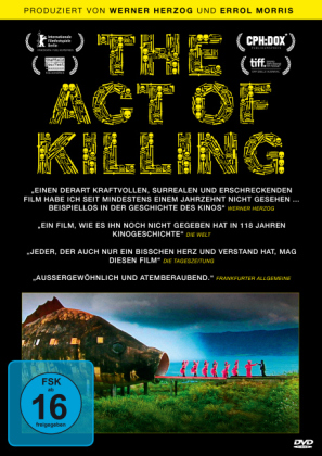 The Act of Killing. Film (1 DVD) von Joshua Oppenheimer
