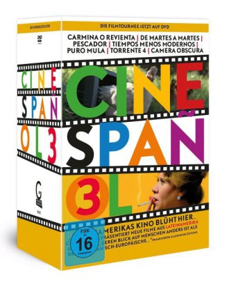 Cinespanol 3, 7 DVDs, O.m.U.
