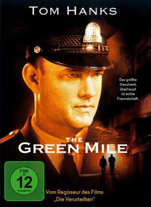 The Green Mile, 1 DVD, deutsche u. englische Version. Film von Frank Darabont