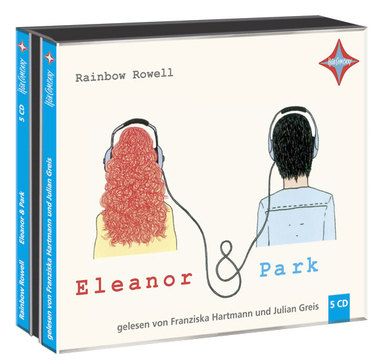 Eleanor & Park, 5 Audio-CDs. Von Rainbow Rowell