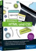 978-3-8362-7646-7;Müller-EinstiegInHTMLUndCSS.jpg - Bild