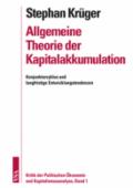 978-3-89965-376-2;Krüger-AllgemeineTheorieDerKapitalakkumulation.png - Bild